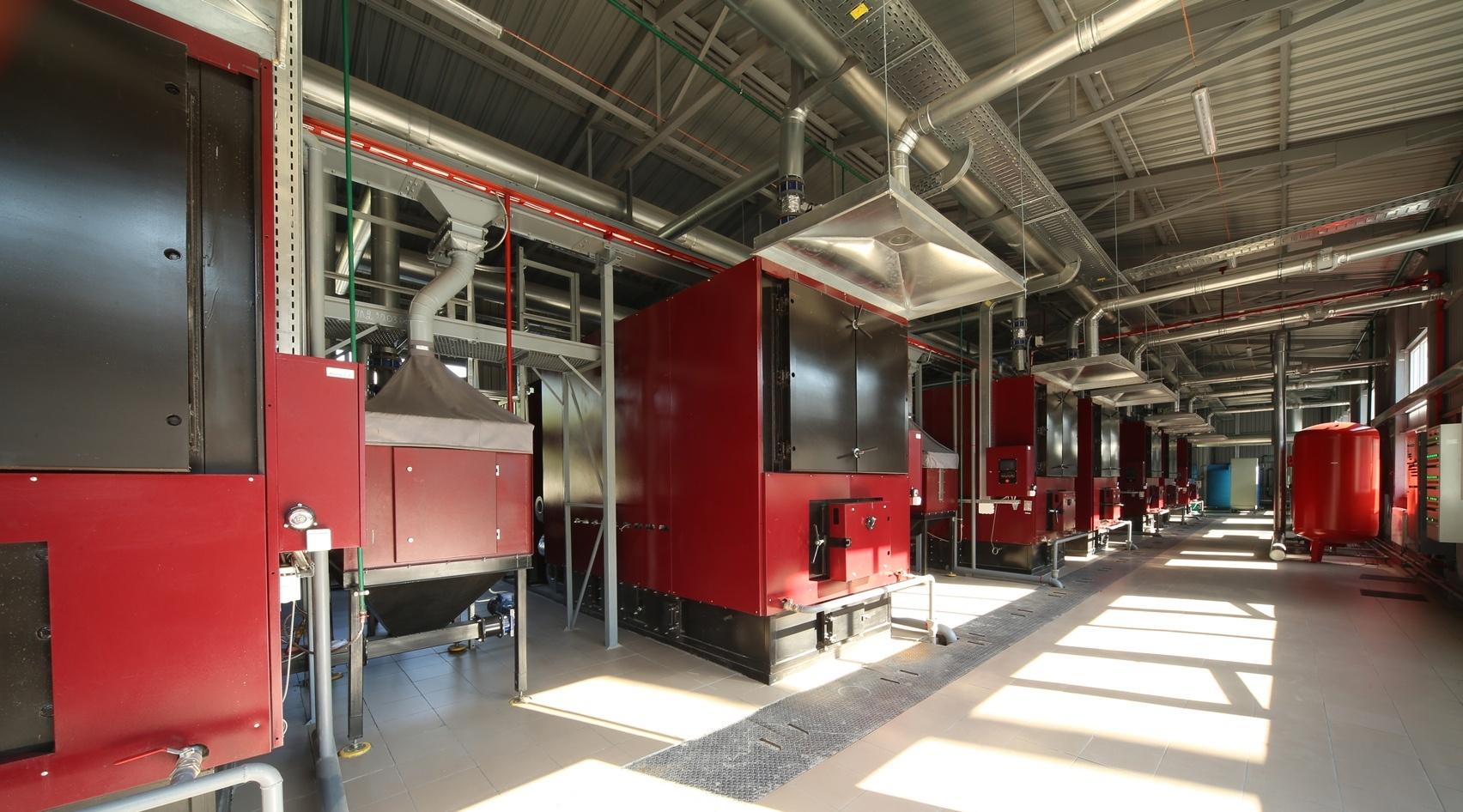 У Вінниці триває будівництво твердопаливної котельні та реконструкція газової